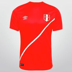 Camisa Umbro Seleção Peru Away s/nº Peru Football, Style, Pith Perfect, Rouge, Hs Sports, Colors, Outfits, Shirts