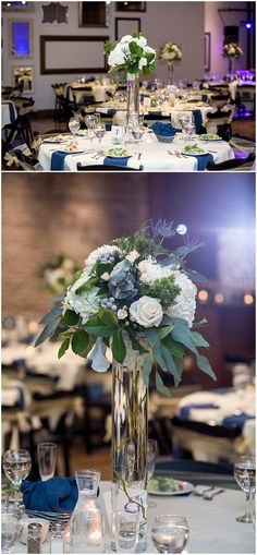 Winter wedding reception at Five Event Center in Minneapolis. Floral designed by Minnesota wedding florist Artemisia Studios. Photos by Jess Nolan Photography (http://www.jessnolan.com/). #fiveeventcenter #wedding #winterwedding #floralcenterpieces #flowers #weddingfloral #winterflowers #weddingdecor #weddingreception #minneapolisweddingflorist #minnesotaweddingflorist #artemisiastudios