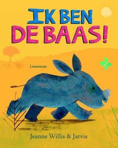 #prentenboekperweek 53/52 Neushoorntje denkt dat hij de baas is; hij luistert naar niemand en pest andere dieren. Heel mooie tekeningen.