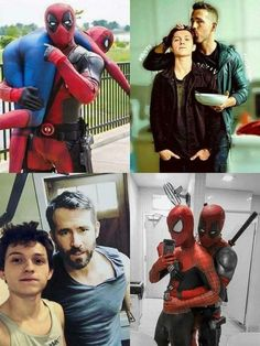 Funny Marvel Memes, Dc Memes, Marvel Jokes, Funny Comics, Funny Memes, Marvel Marvel, Funny Videos, Funny Quotes, Deadpool X Spiderman