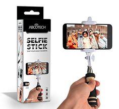 Bluetooth Selfie Stick - Self-portrait Monopod with cell phone clamp - Extendable Wireless Stick and built-in Bluetooth Remote Shutter Abco Tech http://www.amazon.com/dp/B00WGSZ9QO/ref=cm_sw_r_pi_dp_uCsSwb02MV23C