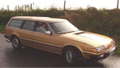 The Rover estate car is a fascinating study into how it is possible to convert a sporting fastback into a usable estate car. It was deemed so successfu Car Rover, Auto Rover, Shooting Break, Volvo Estate, Design Retro, Ford Granada, Pre Production, Station Wagon, Car Car