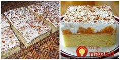 Moc šťavnaté cuketové rezy s kyslou smotanou a ovocím: Vláčnejší koláčik ste ešte nejedli!