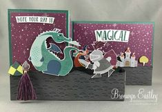 Birthday Cards Melbourne ~ Display stamper blog hop day three unicorn catalog display