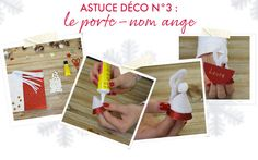 Do it yourself - le porte nom ange