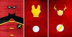 Calvin Lin Superhero Representations - Boy Wonder, Iron Man, Scarlet Speedster