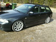 A4 1.8t TipTronic 2850 euro, stupid side skirts and bumpers
