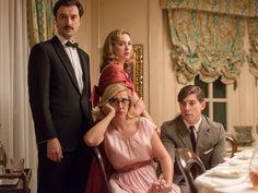 Mateo, Clara, Rita y Pedro no parecen disfrutar de la fiesta
