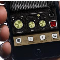 #iPhone #UI Case Study - Amplifier #App by Tobia Crivellari, via #Behance #Mobile