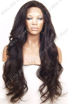# 1B/2 (Erica) 694 Full Lace Wig 100% Virgin Unprocessed Human Hair
