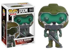 Can you fight off the nightmares from hell, or are you doomed? This Doom Space Marine Pop! Vinyl Figure features the main character from the legendary Doom franchise! Standing about 3 3/4-inches tall,