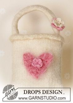 felted girls mini bag