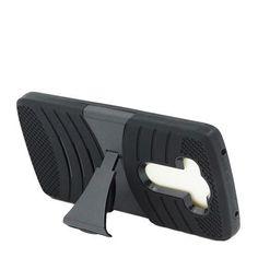 LG V10 Black + Black Robotic Case