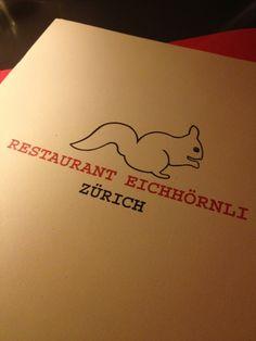 Eichhörnli - one of our date night restaurants