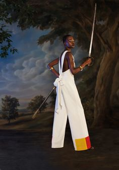 """""""Black Lives Have Mattered for Thousands of Years:"""" A Photo Story By Kehinde Wiley  """"I stand on the shoulders of many great artists whose work emphasizes the importance of diversity in American society."""" ~ Kehinde Wiley   Women of colour color, Beautiful, Black women, Black girls, Dark skin, Beauty, Black fashion style, Brown women skin girls, Melanin, Ebony, elegant black models public figures bloggers celebrities, elegance, respectful fun style"""