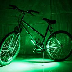 Bike Brightz Green now featured on Fab.