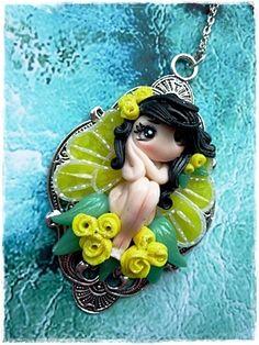 Zitronenfalter-kette-dolly von Marions Traumlädchen auf DaWanda.com