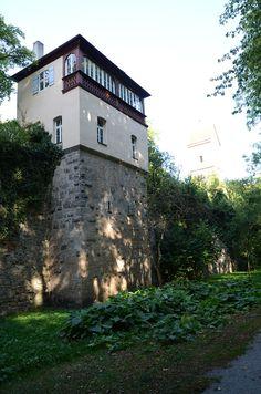 Dinkelsbühl - Germany - Oberer Mauerweg - Gartenhaus