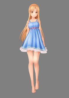 Asuna Character Design | Sword Art Online