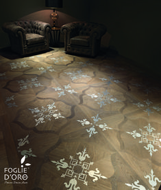 Classic parquet by Foglie d'Oro with metal inlay decor represents luxury wood flooring at its best. The company offers a wide range of traditional and modern designs. Full control over the production process starting from sourcing wood ensures top quality. Showroom in Windsor (please see the address on our web site) #parquet #luxuryparquet #hardwoodflooring #flooringdesign #interiordesign #interiordesignideas  #luxuryhome #luxurydesign Luxury Flooring, Best Flooring, Hardwood Floors, Wood Flooring, Floor Design, Signature Design, Luxury Homes, Modern Design, Interior Design