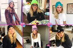 Beanie hats are the new trendy winter accessory par excellence | The Blonde Salad