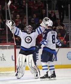 winnipeg jets players funny moments   Jets' win over Blackhawks all about Al   Winnipeg Jets ...