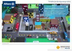 Na semana da mobilidade ALLIANZ lança animação interativa sobre segurança viária | Segs.com.br-Portal Nacional|Clipp Noticias para Seguros|Saude