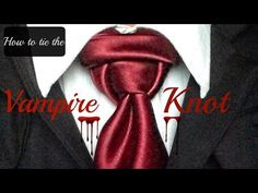 How To Tie a Tie - Templar Knot - YouTube