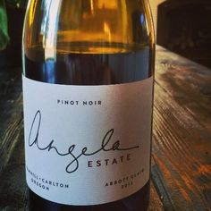 In The Glass: Angela Estate Abbott Claim Pinot Noir 2012 | The Real Wine Julia