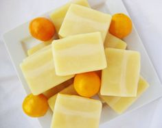 Sweet Orange Shampoo Bar with Aloe Vera and Jojoba Oil