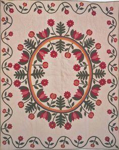Antique Applique Quilts, Applied Quilts, A Quilts, Appliqued Quilts, Antique Quilts, Medallion Quilt, Album Quilts, Applikated Quilts, Antique Vintage ...