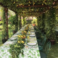 Chic in Capri Porches, Place Settings, Table Settings, Pergolas For Sale, Farm Stay, Mediterranean Garden, Outdoor Seating Areas, Al Fresco Dining, Back Gardens