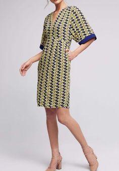 Anthropologie Mirabilis Dress by Maeve Sz 14 - NWT | eBay