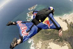 Go wing suit flying