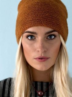 Knitting pattern: Hat with folding edge - ALT. Knitting For Charity, Baby Knitting, Knitting Patterns Free, Knit Patterns, Knit Crochet, Crochet Hats, Diy Wardrobe, Textiles, Knitting Projects