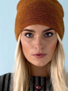 Knitting pattern: Hat with folding edge - ALT. Knitting For Charity, Baby Knitting, Knitting Patterns Free, Knit Patterns, Diy Wardrobe, Textiles, Crochet Yarn, Alter, Knitting Projects