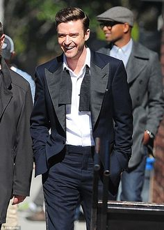 Suited and booted: Justin Timberlake will perform at the 2013 BRIT Awards for the first time since 2004