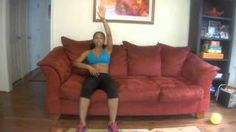 Post C-Section Abdominal Workout, via YouTube. Sitting on your couch!!