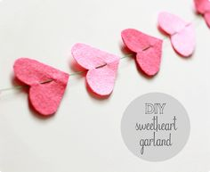 Cute and easy Valentine decoration to brighten the home