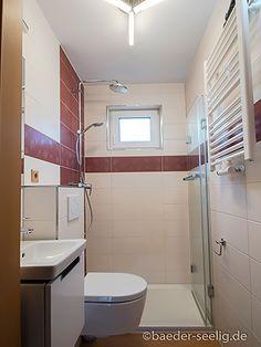 Badideen für kleine Bäder - BÄDER SEELIG Mini Bad, Corner Bathtub, Bathroom, Tiny Bathrooms, Small Baths, Washroom, Full Bath, Bath, Bathrooms