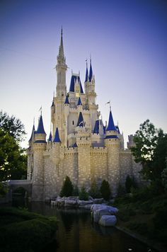 Disney World - because, I haven't been there yet
