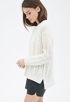 Cable Knit Sweater | Forever21 - 2000137261