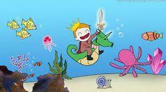 under the sea cartoon images - Buscar con Google