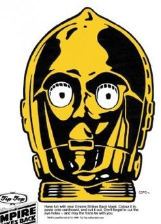 FREE Star Wars Printable Face Masks