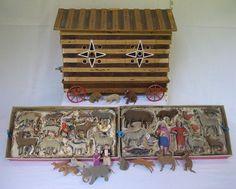 antique noah's ark | Antique Noah's Ark - IMG_7783 by Tedtique on Flickr