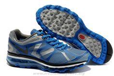 timeless design 32a0f e8d6b Mens Nike Air Max 2012 Wolf Grey Black Soar Metallic Silver 4879 Air Max  2009,