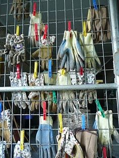 Captivating Glove Storage
