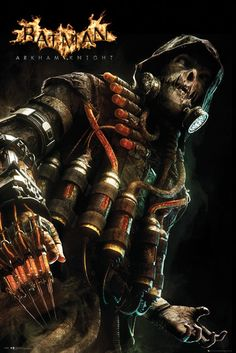 Scarecrow for Batman Arkham Knight- my favorite! I absolutely love this game. And the scarecrow! Especially in Gotham how he injects himself with fear glands. Batman Arkham Knight Scarecrow, Batman Arkham Games, Batman Games, Im Batman, Superman, Scarecrow Character, Comic Character, Character Concept, Character Design