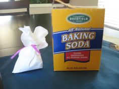 Sisters with Stuff: Make Baking Soda Sachets to put in stinky shoes or closets!