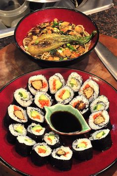 Sushi and Ramen by tofu666, via Flickr